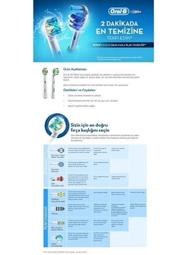 Yedek Başlık Pro White 4 adet-Oral-B